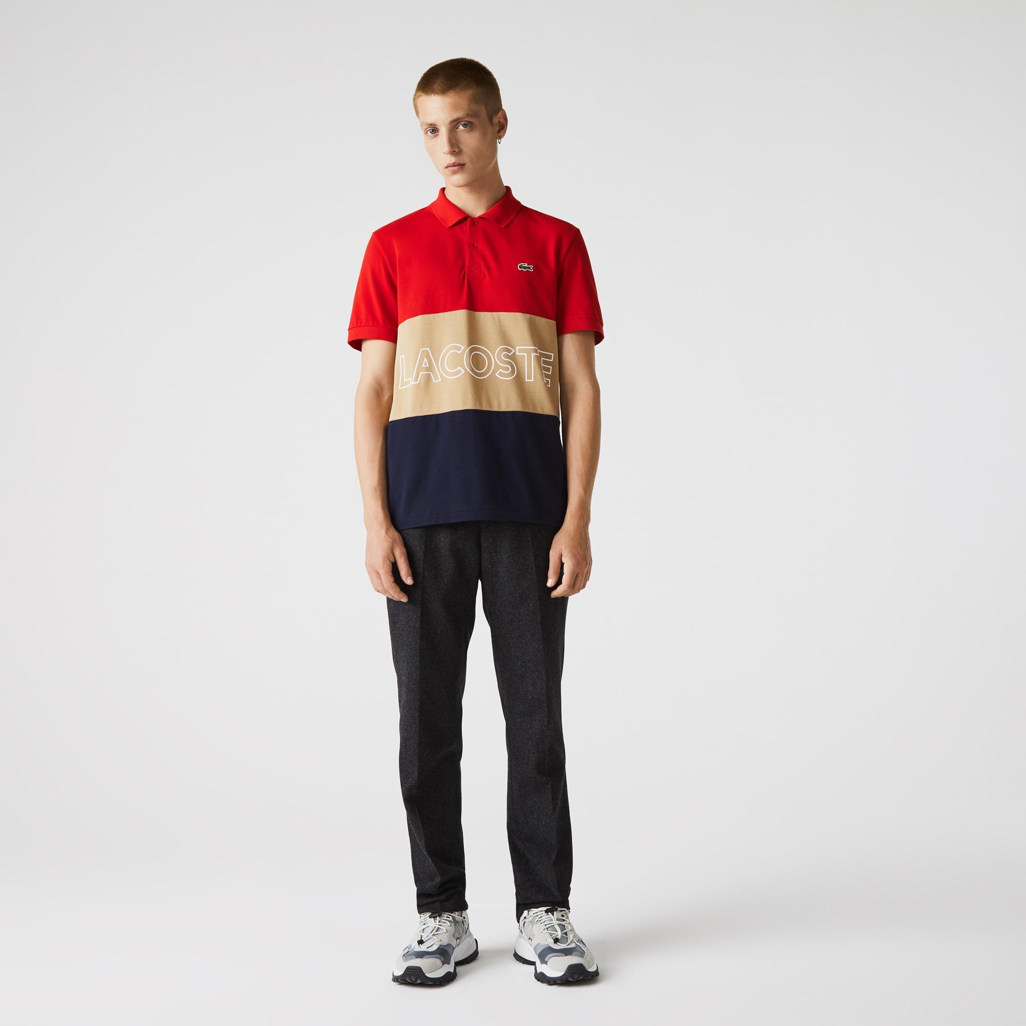 Lacoste Męskia bardzo lekka koszulka polo z bawełny, Regular Fit
