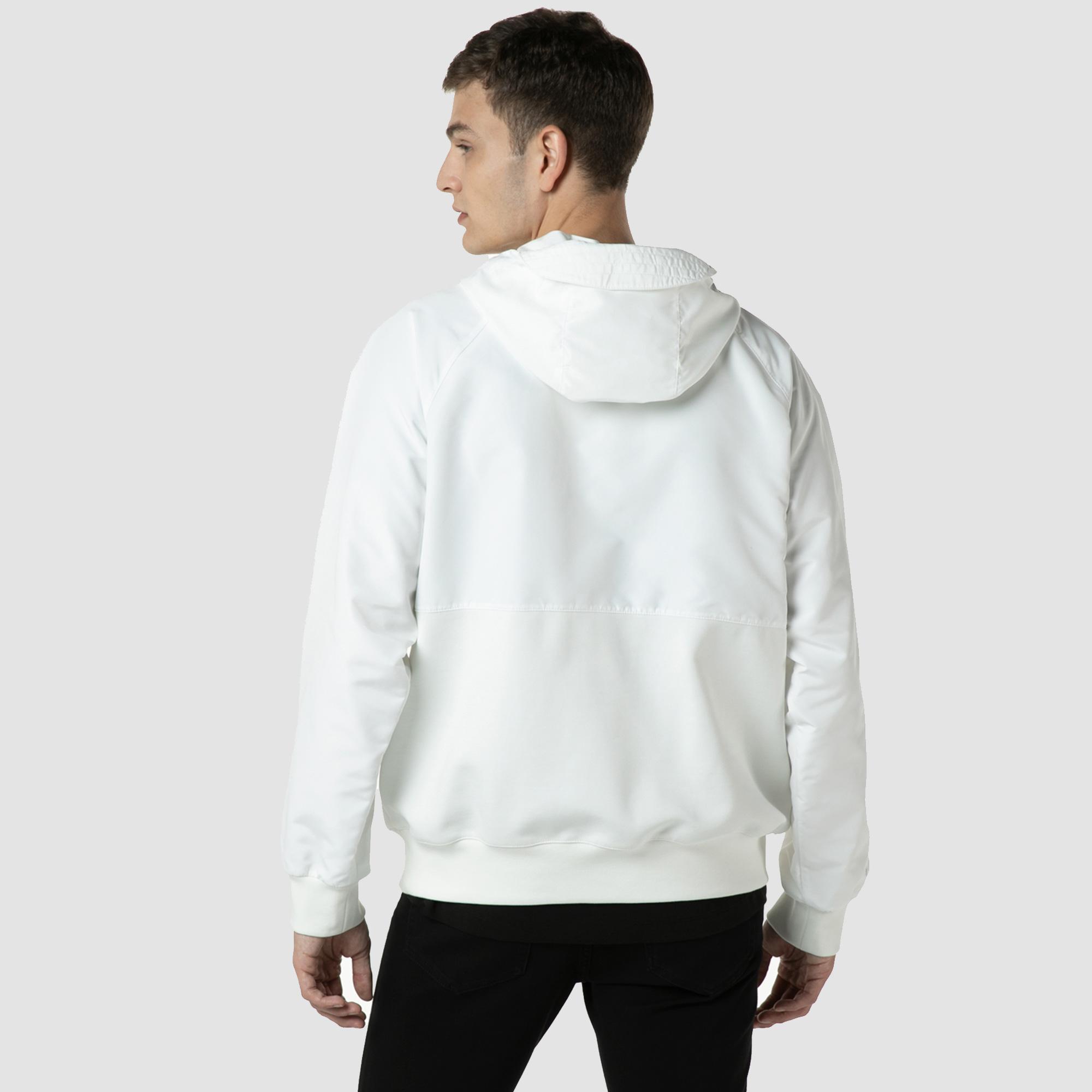 Lacoste Men's Bimaterial Pullover Jacket