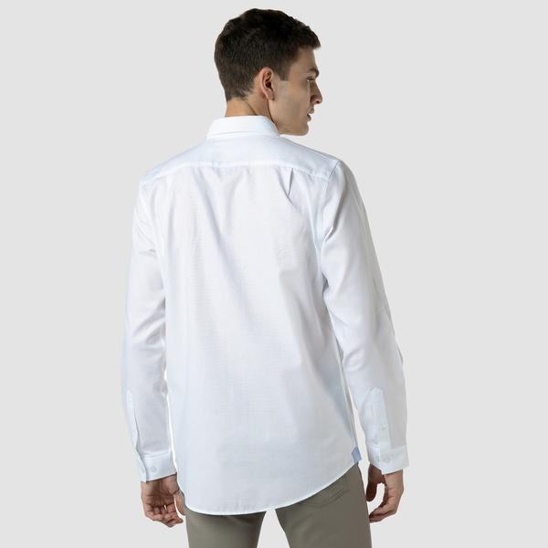 Lacoste Koszula tkana męska