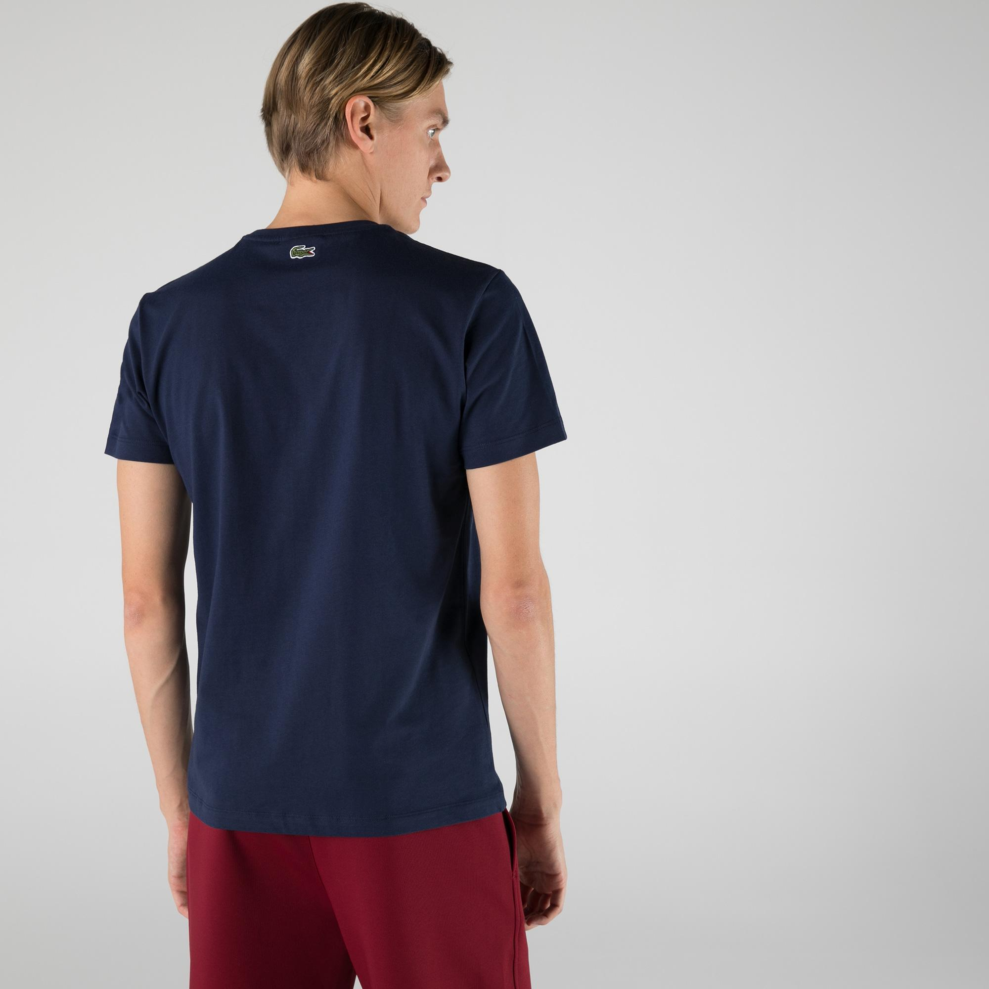 Lacoste Men's Print Logo Premium Cotton T-shirt
